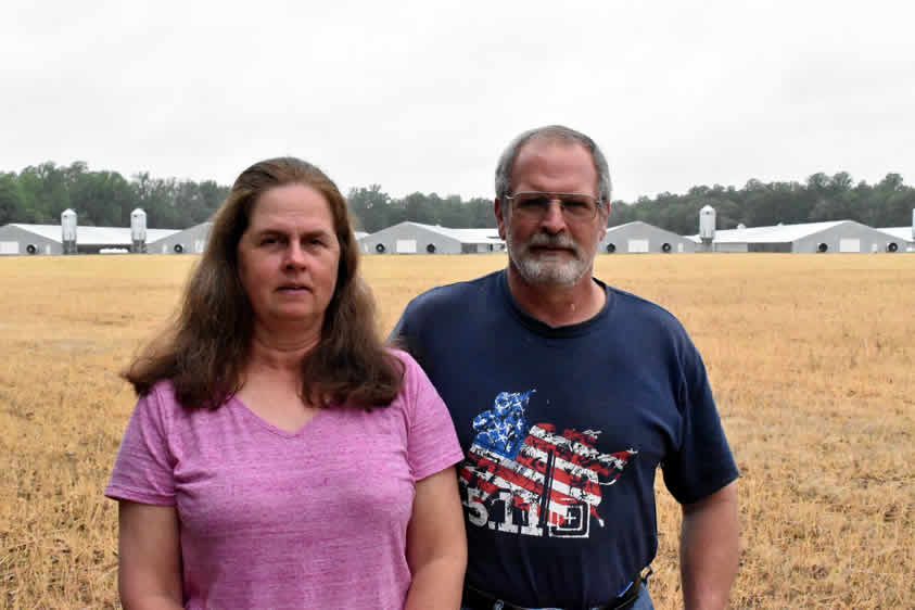 Brenda and Keith Powell, Milford, Del.