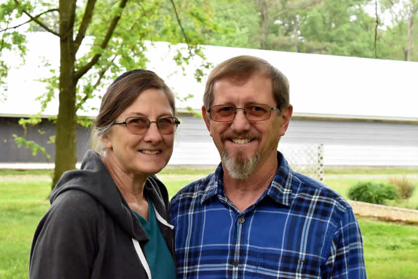 Carlene and John Swartzentruber, Bridgeville, Del.