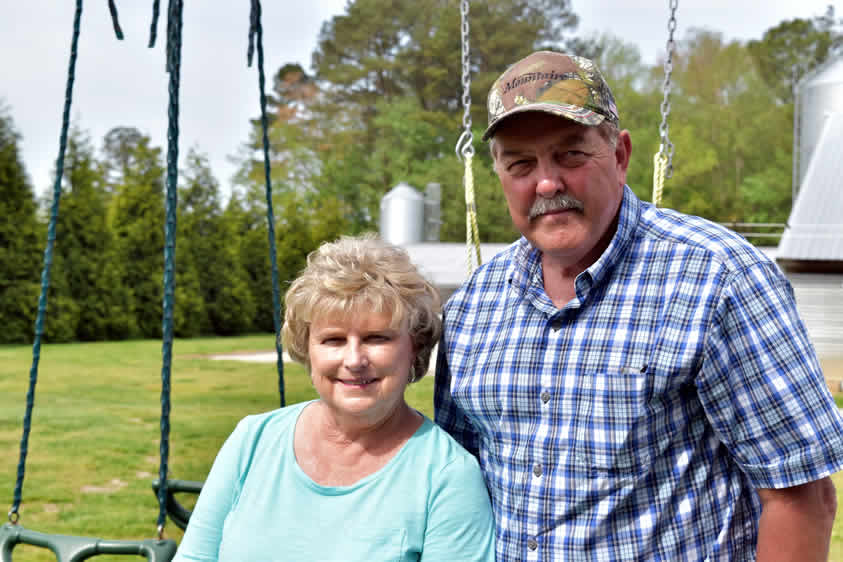 Rick and Diane Smith, Pittsville, Md.